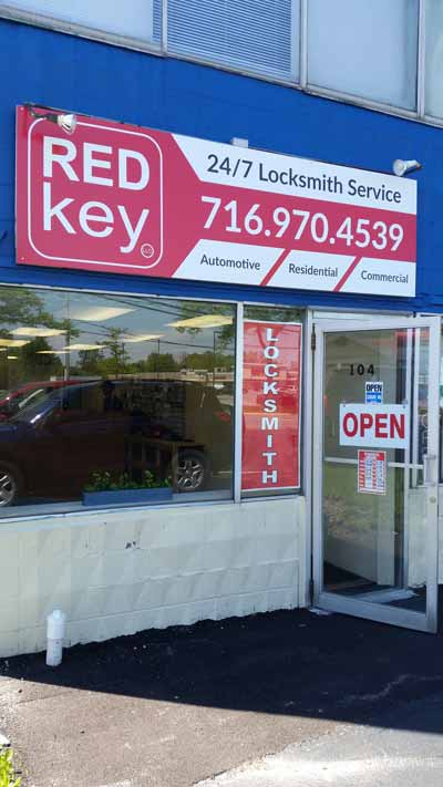 Red Key LLC | Locksmith Buffalo NY