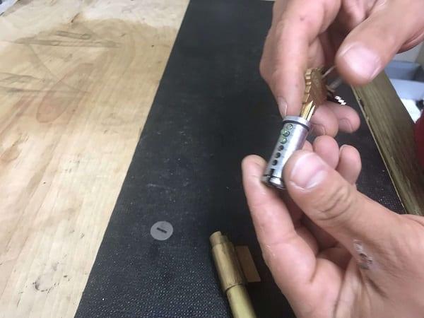 Redkeyllc locks rekey process 4